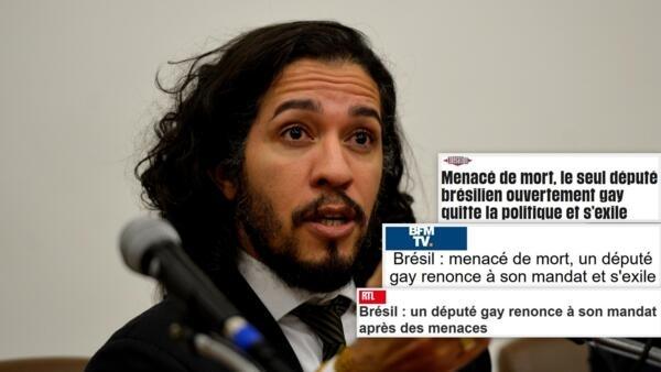 Após ameaças deputado Jean Wyllys abandona mandato e deixa o Brasil.