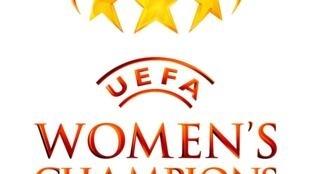 Logo de la Champions League femenina.