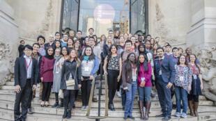 Semana de Jóvenes Talentos Científicos Internacionales, Palais de la Découverte, París, el 1 de febrero de 2017.