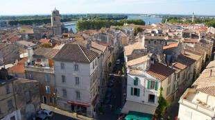 La ciudad de Arles.