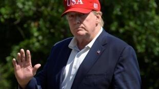 Tổng thống Mỹ Donald Trump tại Nhà Trắng, Washington, ngày 23/06/2019.