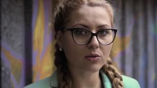 A jornalista Viktoria Marinova apresentava um programa de televisão que tratava temas polêmicos.