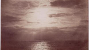 "Gustave Le Gray, ""Effect of sun on the clouds"" - Océan"" (1856-1857)"