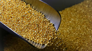 Granules d'or.