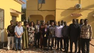 Representantes da CEDEAO em Bissau. 21 de Novembro de 2019.