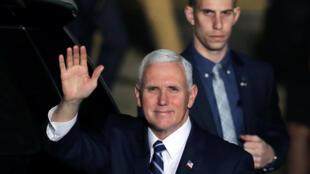 O vice presidente americano, Mike Pence, desembarcou em Israel neste domingo para uma visita de dois dias.