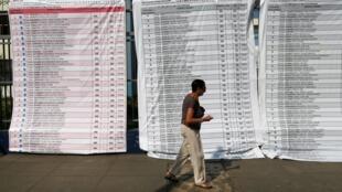 Plus de vingt listes étaient en lice pour ces élections législatives du 26 janvier 2020 qui se sont soldées par un affaiblissement du parti fujimoriste Fuerza Popular.