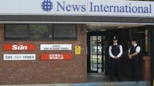 Sede do grupo News International, em Londres.