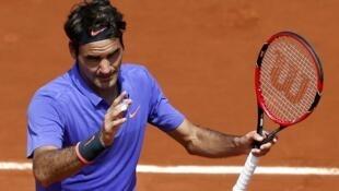 Роджер Федерер, Париж, 27 мая 2015 года
