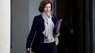 La ministre française de la Défense Florence Parly se rend à Washington, le 27 janvier 2020 pour discuter de la coalition anti-EI et du Sahel.