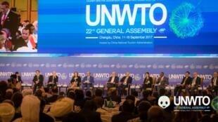 Plenaria de la vigésima segunda Asamblea General de la OMT: Chengdu, China. 13 de septiembre de 2017.
