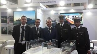 French company CNIM presents a new Amphibious landing craft to the Egyptian navy