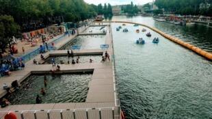 Piscinas em Bassin de la Villette