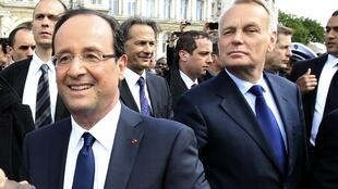 Ready to rule - French President François  Hollande and Prime Minister Jean-Marc Ayrault