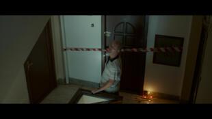 L'acteur Teo Corban incarne le personnage de Sandu Patrascu dans  «L'Étage du dessous» de Radu Muntean, présenté dans la sélection officielle Un Certain Regard au Festival de Cannes.