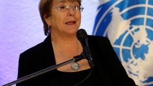 A Alta Comissária da ONU para os Direitos Humanos, Michelle Bachelet, pede repatriação de parentes de jihadistas