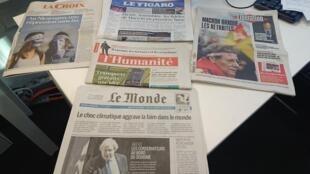 Diários franceses 11.09.2018