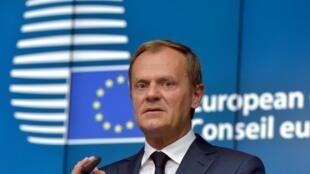 Ce dimanche, le président du Conseil européen, Donald Tusk, a annoncé l'annulation du sommet européen qui devait se tenir en fin d'après-midi.