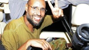 Сын Муаммара Каддафи, Сейф аль-Ислам 23/08/2011 (архив)