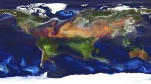 O fenômeno El Niño está ligado ao déficit pluviométrico em áreas como o nordeste do Brasil.