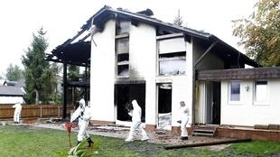 Casa do jogador Bruno pegoou fogo durante a noite.