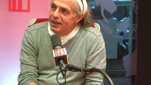 O jornalista e escritor francês Jean-Paul Delfino