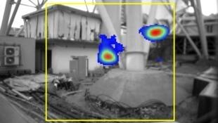 A gamma ray camera searches for radioactivity at Fukushima