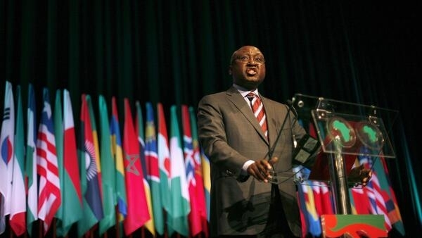 Donald Kaberuka, outgoing president of the African Development Bank