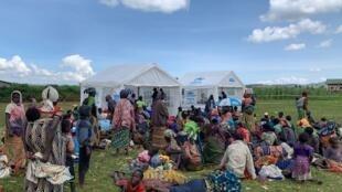 Des réfugiés rwandais dans le camp de Nyamunyunyi, en RDC, décembre 2019 (photo d'illustration).
