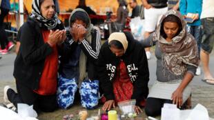 Tưởng niệm nạn nhân vụ xả súng vào người Hồi Giáo ở Christchurch, New Zealand ngày 19/03/2019. Vụ khủng bố đã làm dấy lên căng thẳng ngoại giao Úc-Thổ Nhĩ Kỳ.