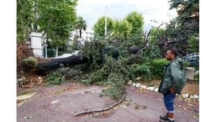 The Dordogne department was hit by heavy storms over the weekend