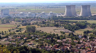 The  Bugey nuclear powers station in the south of France