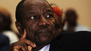 Shugaban kasar Guinee Alpha Condé.