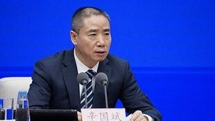中國工業和信息化部副部長辛國斌資料圖片