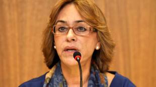 A cônsul-geral do Brasil em Paris, Maria Edileuza Fontenele Reis