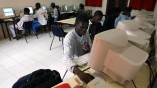 Étudiants sénégalais à Dakar (Image d'illustration)