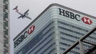 Sede social do HSBC, em Londres