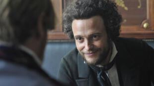 Image tirée du film «Le jeune Karl Marx», de Raoul Peck.