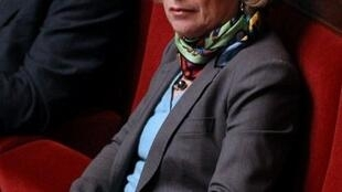 France's Minister of Higher Education and Research Geneviève Fioraso