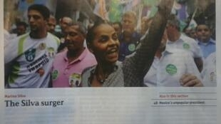 Artigo sobre Marina Silva na influente revista britânica The Economist