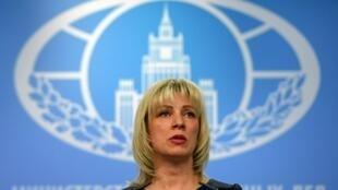 Официальный представитель МИД Росси Мария Захарова