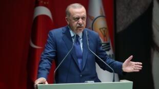 Le président turc Recep Tayyip Erdogan à Ankara, le 5 septembre 2019.