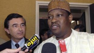 L'opposant nigérien et ancien président de l'Assemblée nationale, Hama Amadou.