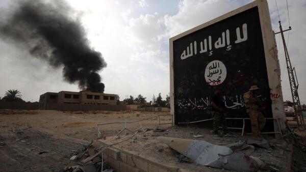 IS標識.  伊拉克