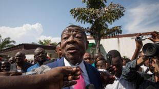 Le porte-parole du gouvernement congolais, Lambert Mende.