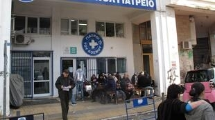 Doctors of the World clinic in central Athens. Originally set up to serve asylum seekers and migrants, the clinic serves about 150 people per day. But in recent years administrators say almost 40 percent of patients have been Greek citizens.