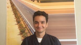 Realizador português Gabriel Abrantes em Cannes a 19 de Maio de 2019.