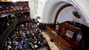 Ảnh minh họa : Quốc Hội Lập Hiến Venezuela trong phiên họp ngày 8/08/2017.
