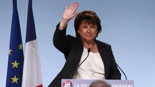 Former Socialist party leader Martine Aubry in October 2011.