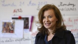 Valerie Trierweiler, companion of French President François Hollande